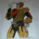 1994 GI Joe 30th Salute #70 Space Force Figure Trading card (16)